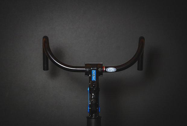 Nitto B123AA Bar black 380mm Ø 25.4mm