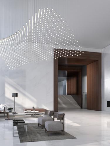 Interior West Lobby