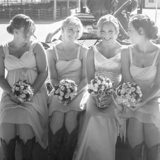 A cowboy themed wedding