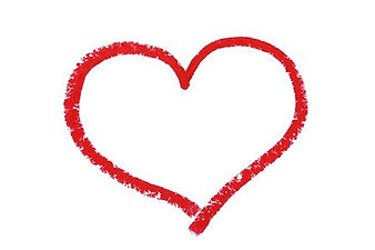 98114481-red-heart-drawn-by-lipstick-on-
