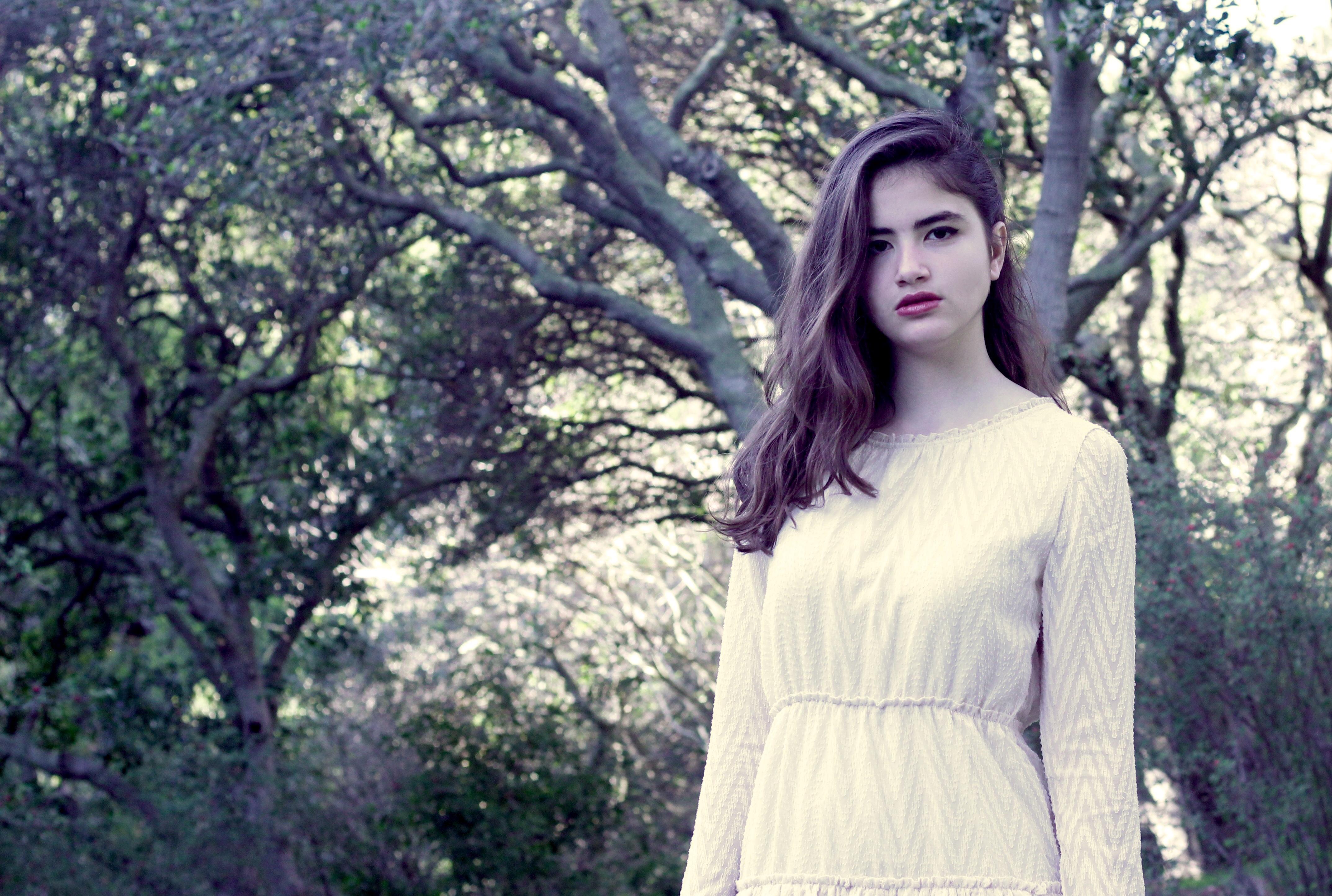 Sophina in White