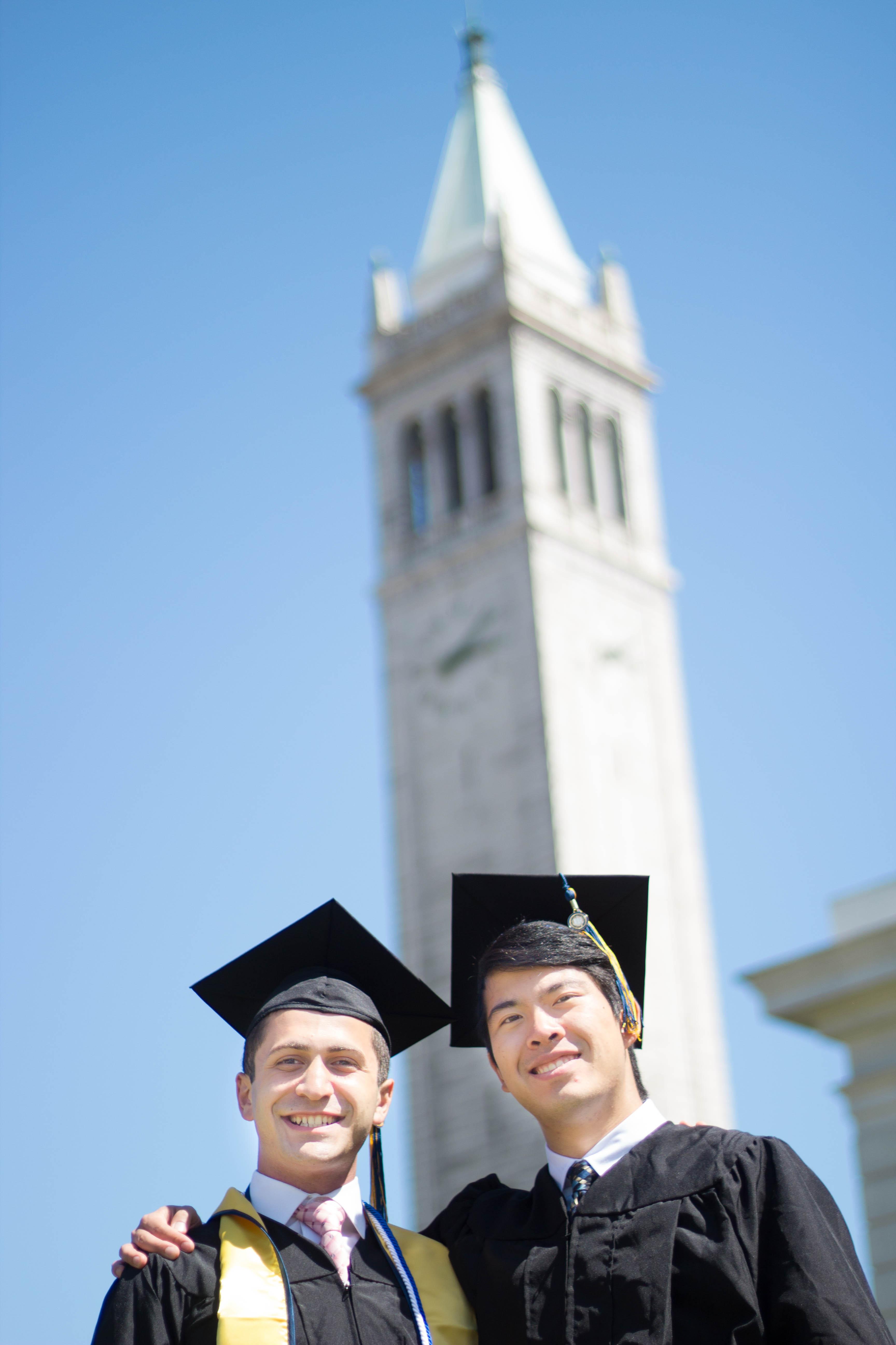 Graduation and Campanile