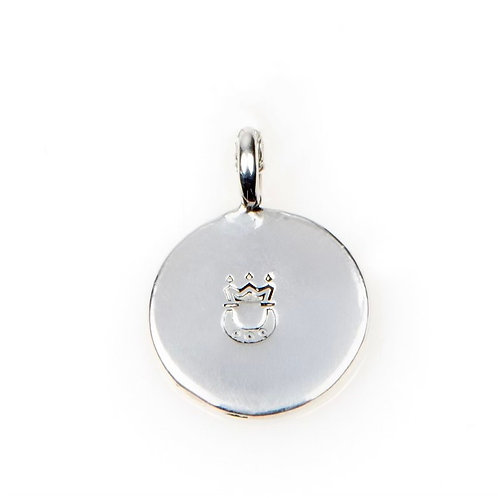Individual Sterling SIlver MINI Disc Charm