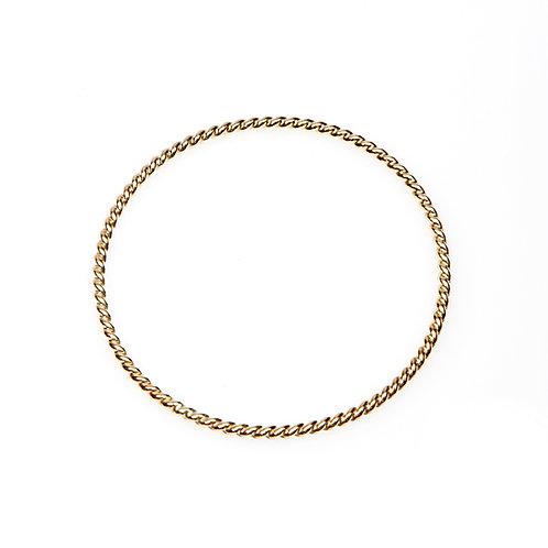 9ct Gold Rope Bangle