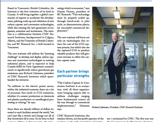 CCCI Featured in the Carbon Capture Journal