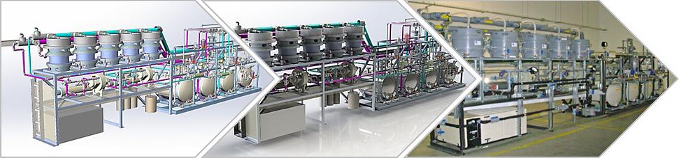 Pilot Plant Design and Commercialization