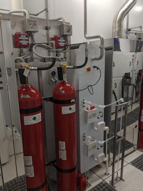 Fire Supression CO2 Tanks