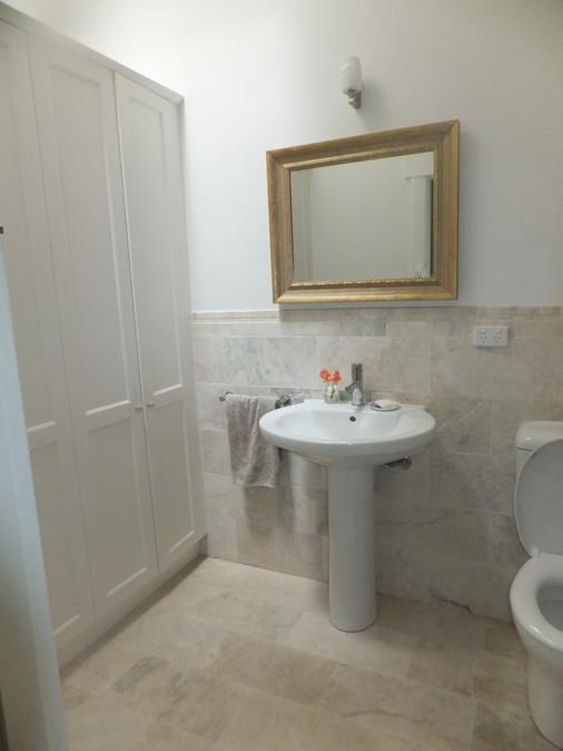 Powder room renovation in Canterbury