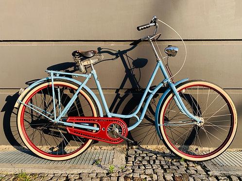 "Vintage Dutch Bike, handpainted 28"", frame size 55 cm"