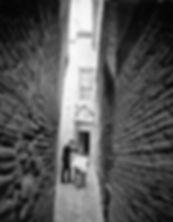 Barbero en el callejón de la Soledad. Casiano Alguacil. Toledo