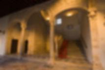 Escalera Covarrubias. Museo de Santa Cruz. Toledo