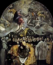 Entierro del Señor de Orgaz. El Greco. Toledo