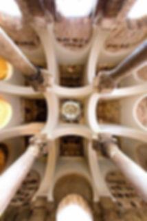 Bóvedas d e la Mezquita del Cristo de la Luz. Toledo