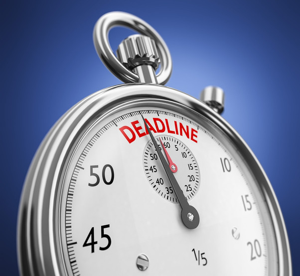Deadline for REF Looming