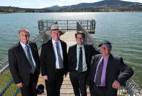 Liverpool Plains $28m Quipolly Water Project gets underway