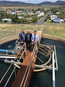 MP M Johnsen Mayor A Hope and MP K Anderson Werris Creek Water Treatment Plant 2017_preview
