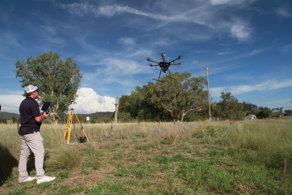 Aerial Surveying of the Pipeline Route