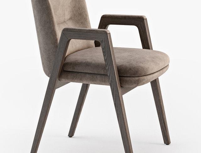 Minotti Lance chair
