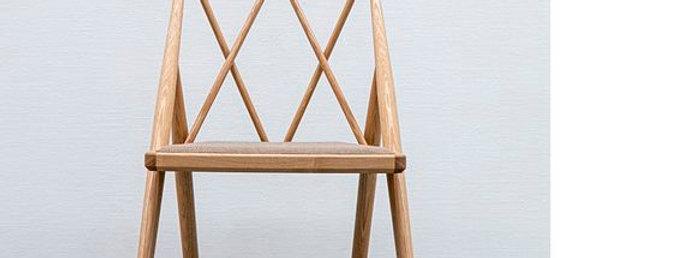 Drill design Argyle Chair