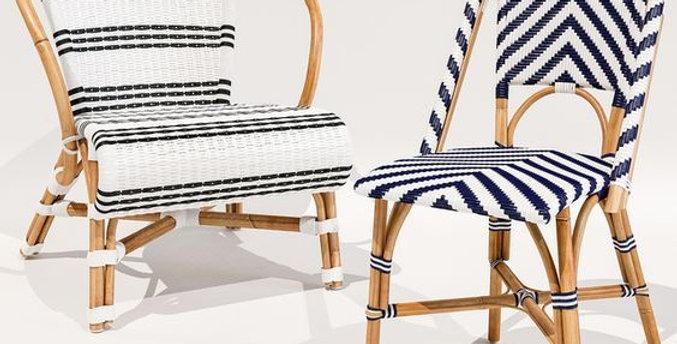 Monaco and Chevron Riviera Chairs