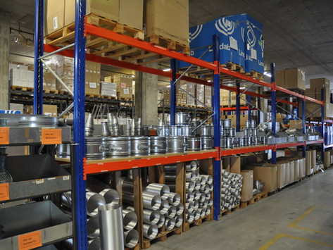 650 m2 Lagerfläche = hohe Lieferbereitschaft für unsere Kunden