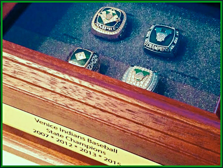Venice High Baseball Rings
