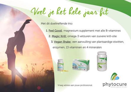 Phytocure-pakket - Voel je het hele jaar