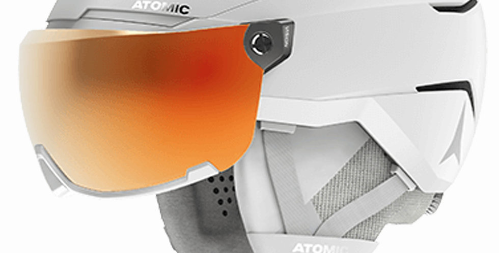 Atomic Savor Gt Amid Visor HD White