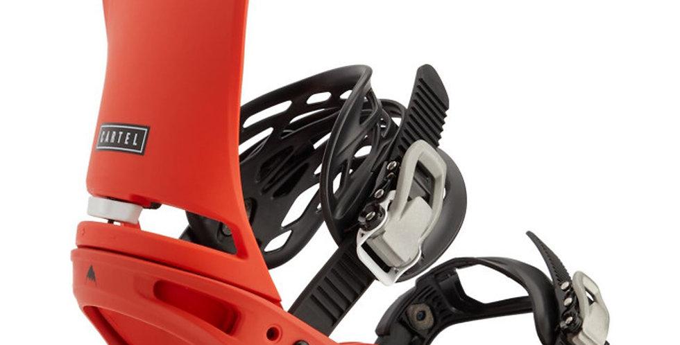 Burton Cartel Reflex Bright Red