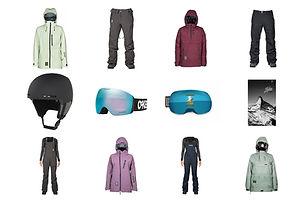 ski snowboard outerwear bekleidung goggles bindings online store buy kaufen