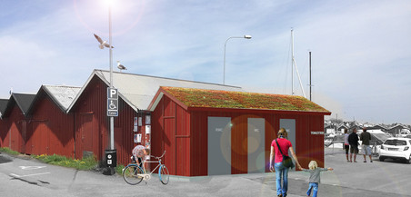 Toaletter Klåva hamn