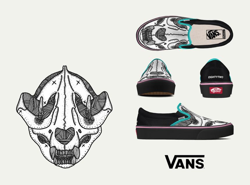VANS x VIET-LU | Giant Panda