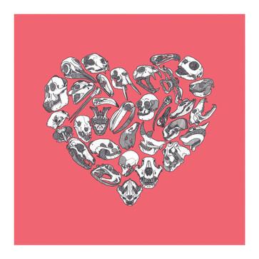Heart - Congo Pink