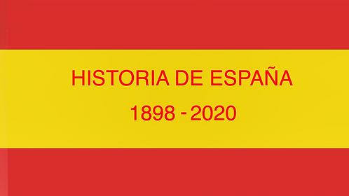 Curso Historia de España 1800-2021