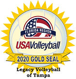 Legacy Volleyball of Tampa Gold Seal 20