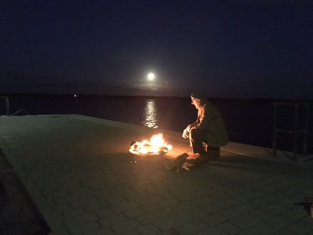 Feuer an der Goitzsche