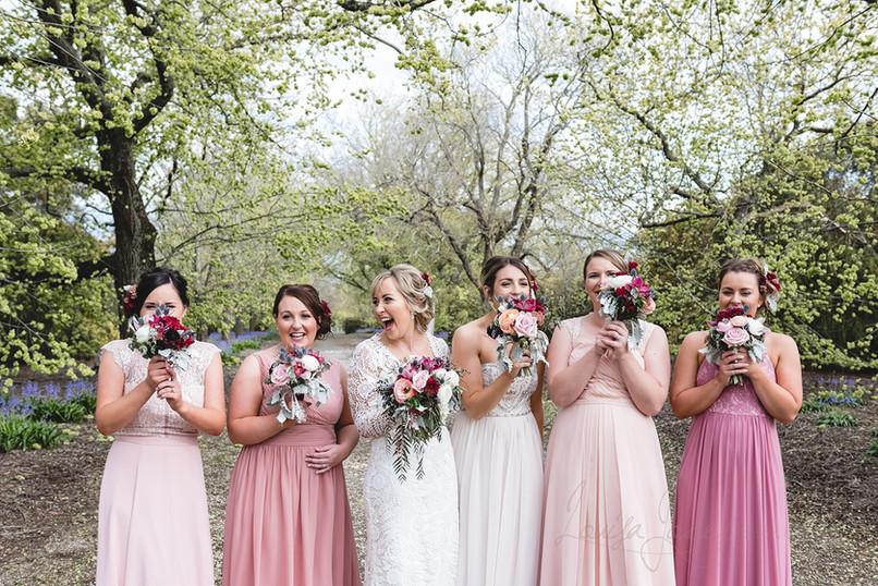 Bridesmaids at Narmbool