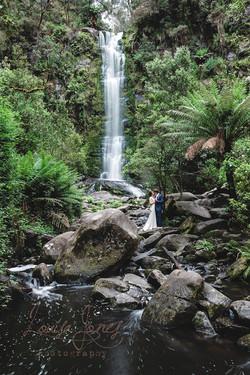 Waterfall Lorne Erskine Wedding