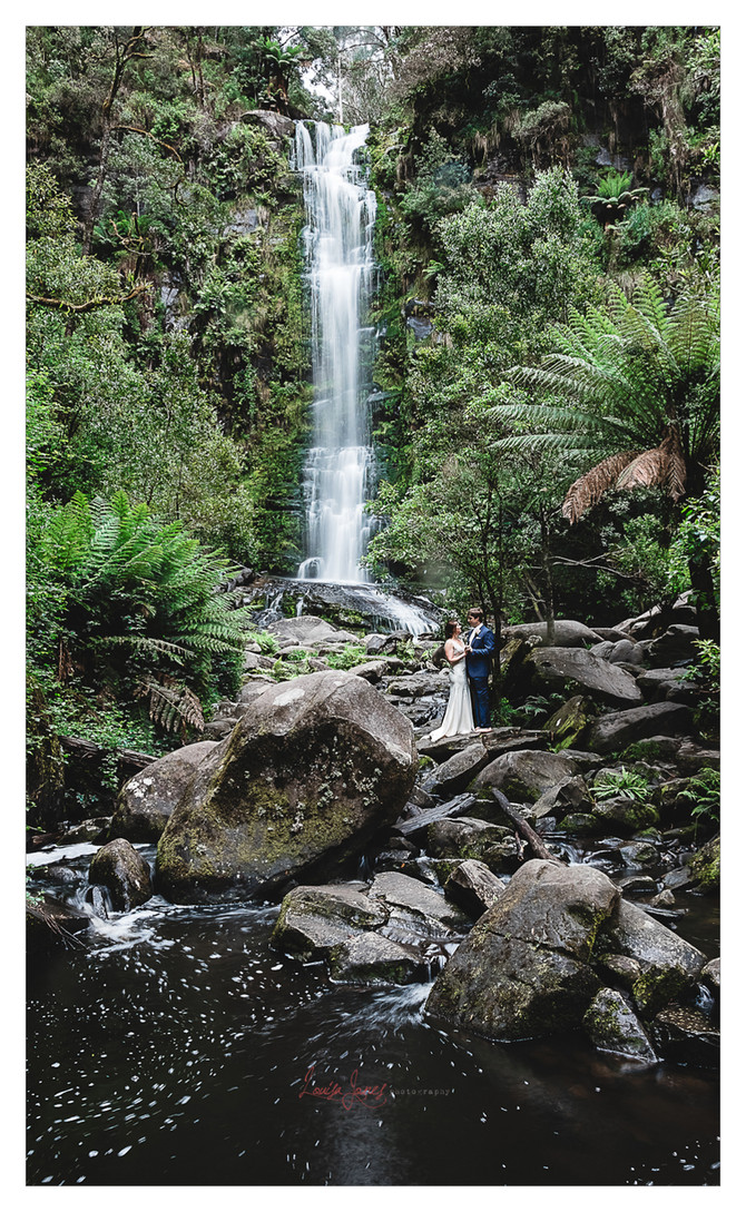 Waterfall Elopement, Erskine Falls
