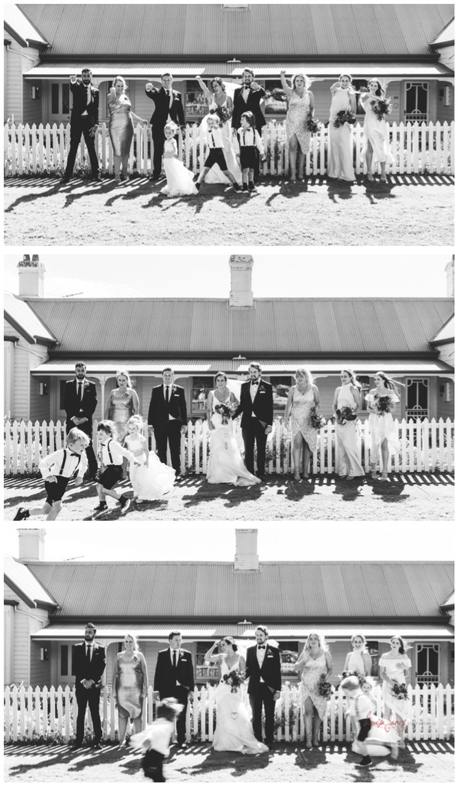 Queenscliff and Flying Brick Wedding Celebrations!