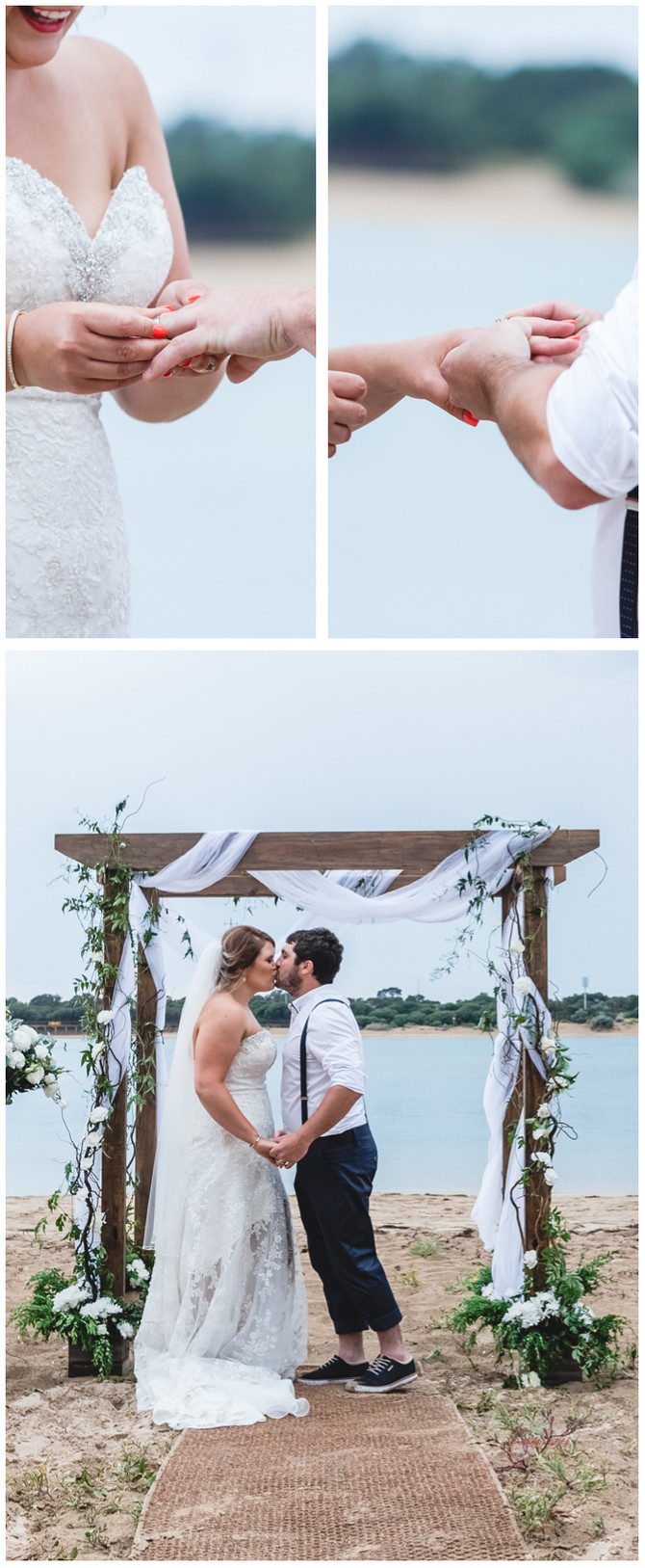 Beach Wedding, Point Lonsdale and Barwon Heads