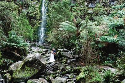 Waterfall Wedding Lorne