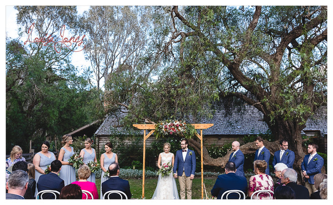 Emu Bottom Homestead Wedding