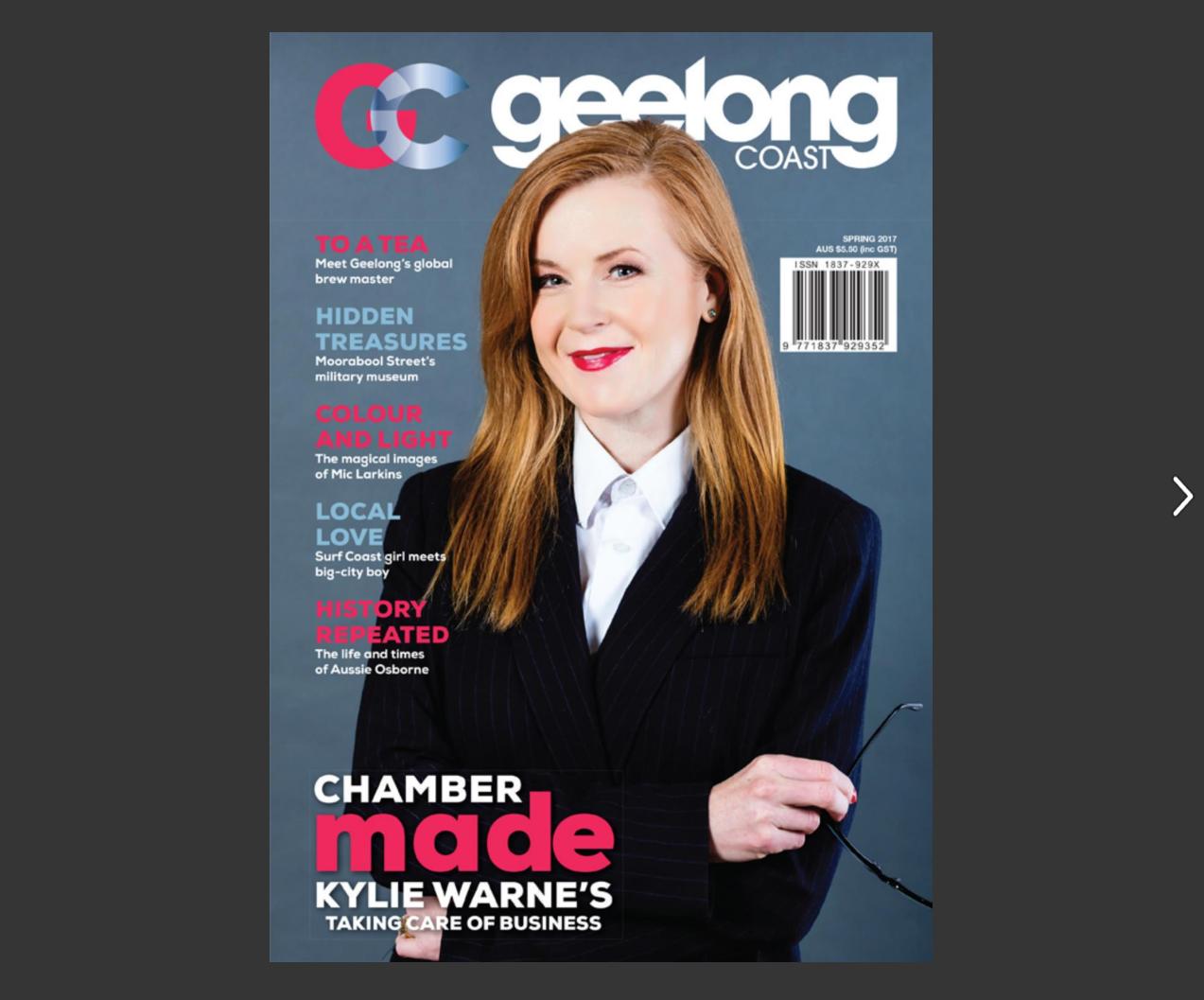Magazine Cover 2017 GC spring