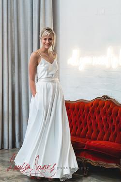 model wearing Soho Bride
