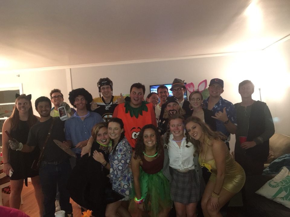 Gamecock Sailing halloween party '16