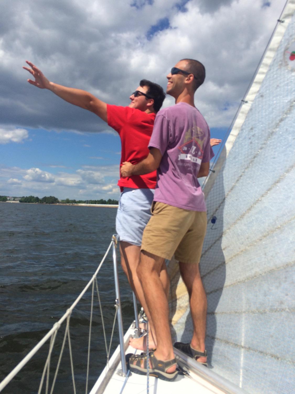 Jack & Jason reenact Titanic