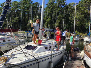 Boat Cleaning Fundraiser