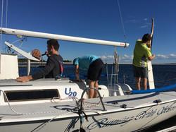 Keelboat practice Fall '16