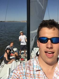Keelboat practice Spring '16